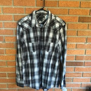 INC  XL MENS BUTTON DIWN SHIRT
